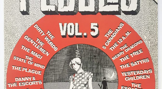 VARIOUS: Pebbles Vol. 5 (LP, BFD BFD 5022, 1979)