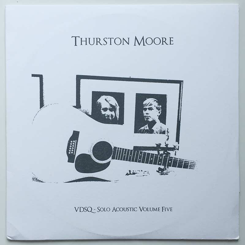 Thurston Moore - 12 String Meditations For Jack Rose front cover