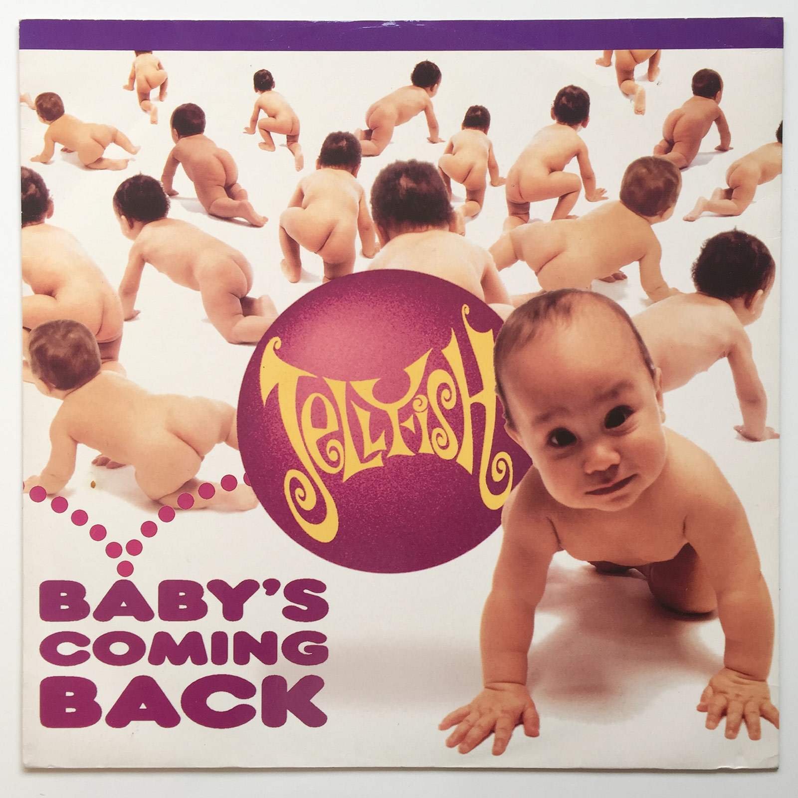 Jellyfish - Baby's Coming Back cover